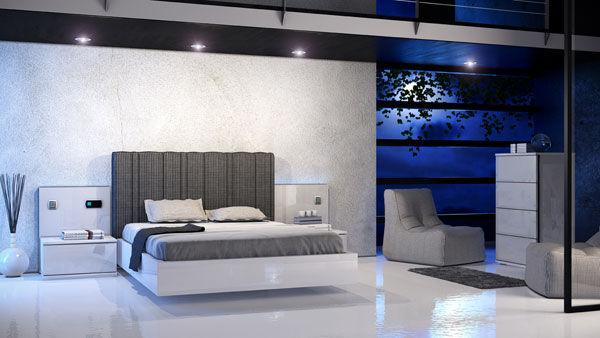 Decoración, dormitorio elegante de Muebles Benicarló