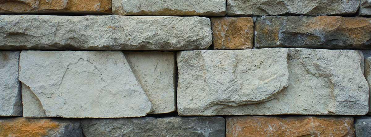 Textura de pared con roca artificial
