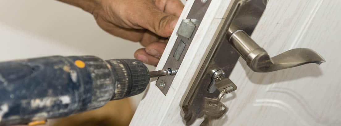 Cambio del bombín de una cerradura