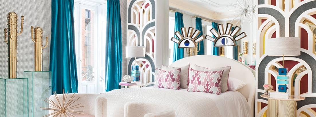 """Dormitorio """"Sweet Dreams"""" diseñado por Nuria Alía para Casa Decor 2019"""