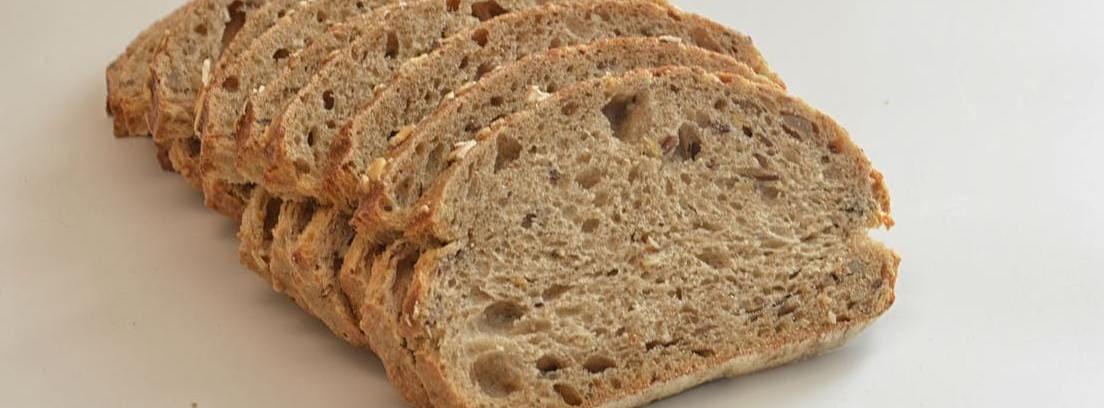 tabla de equivalencia de medidas rebanada pan