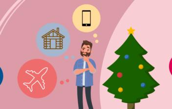 Infografía regalos Navidad