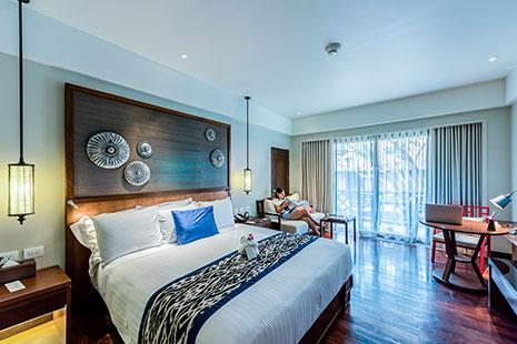 Ropa de abrigo para cama habitación con cama grande estilo moderno