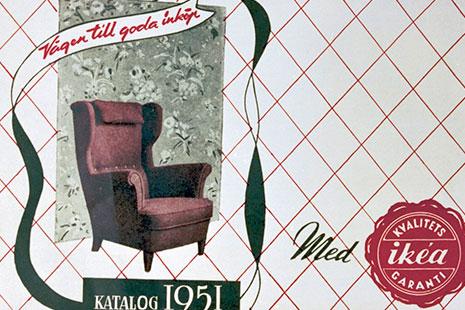 catalogo de ikea de 1951