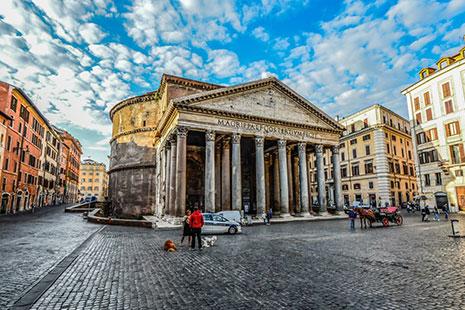 El Panteón en Roma, Italia