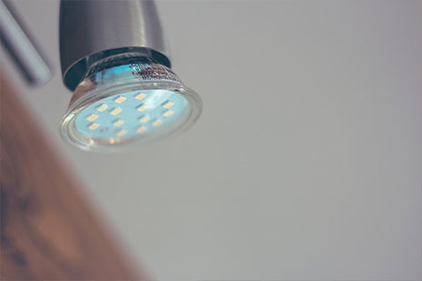 Las luces LED te ayudarán a ahorrar