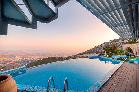Qué piscina puedo poner en una terraza