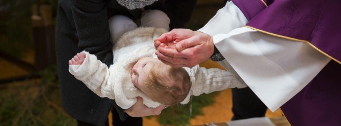 Bautizo de un bebé