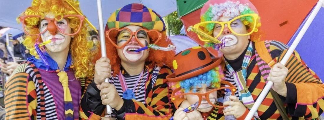 3 Disfraces para carnaval fáciles y originales