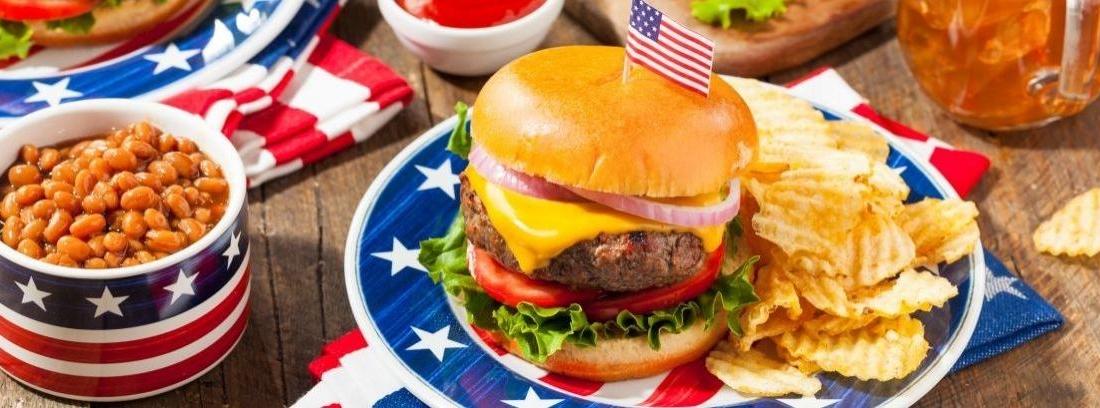 comida día independencia EEUU