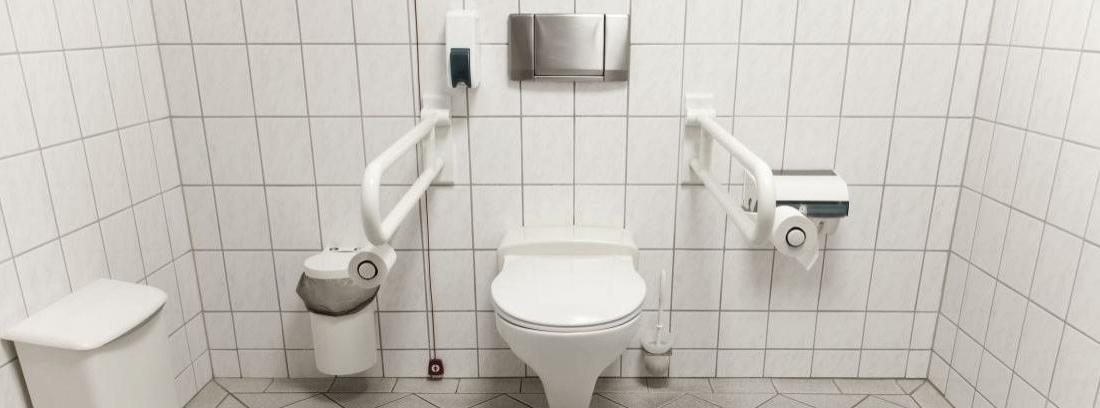 Baño para mayores y discapacitados