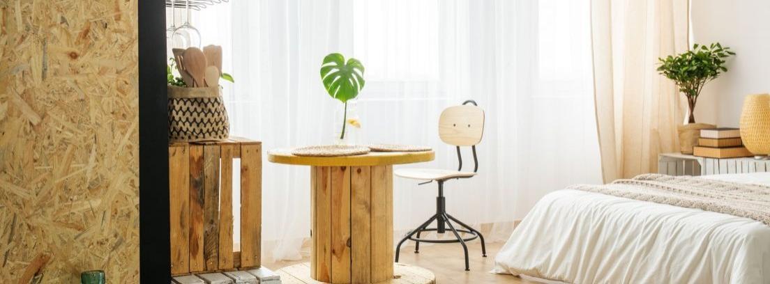 Muebles con materiales reciclados