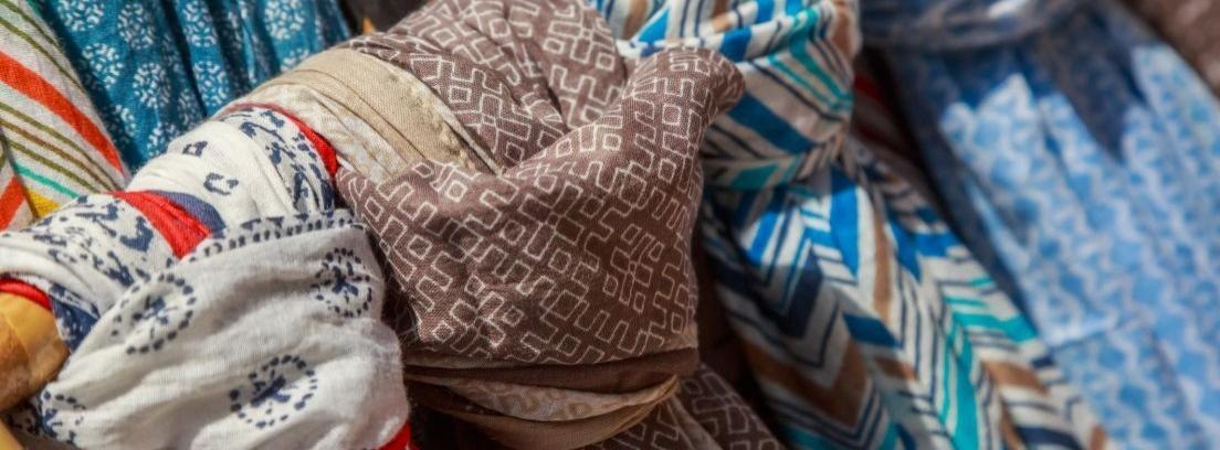 Atrévete con la decoración con pañuelos