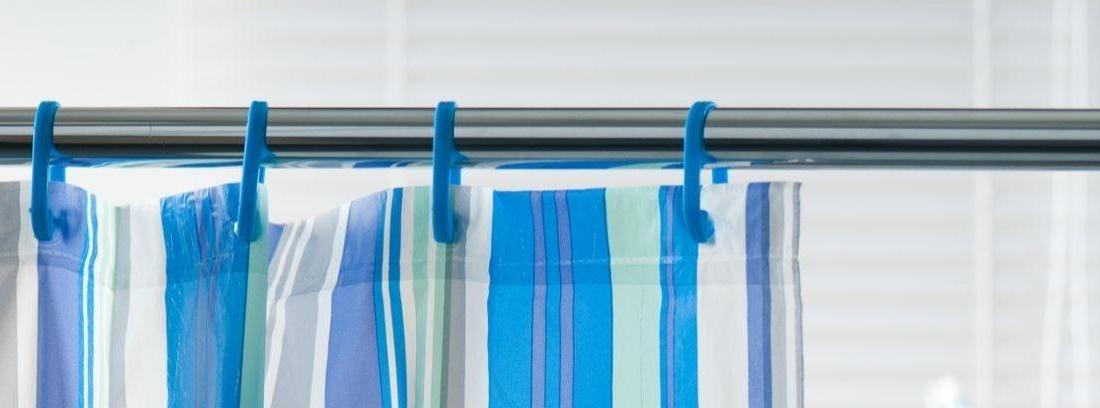 Barras fijas o barras extensibles para cortinas de baño