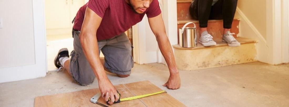 Cambiar suelo de casa