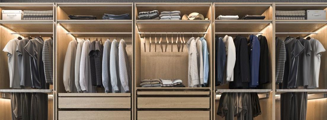 Claves para diseñar el armario perfecto
