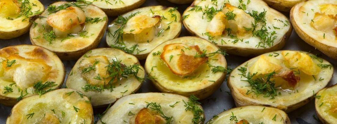 Preparación patatas panadera