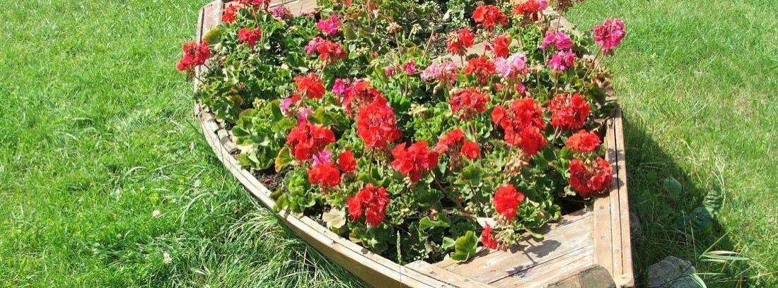 Hacer un arriate en el jardín