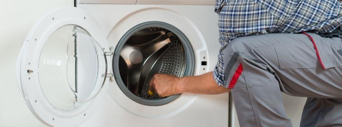 Cambiar la goma de la lavadora
