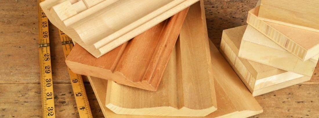 Zócalos de madera