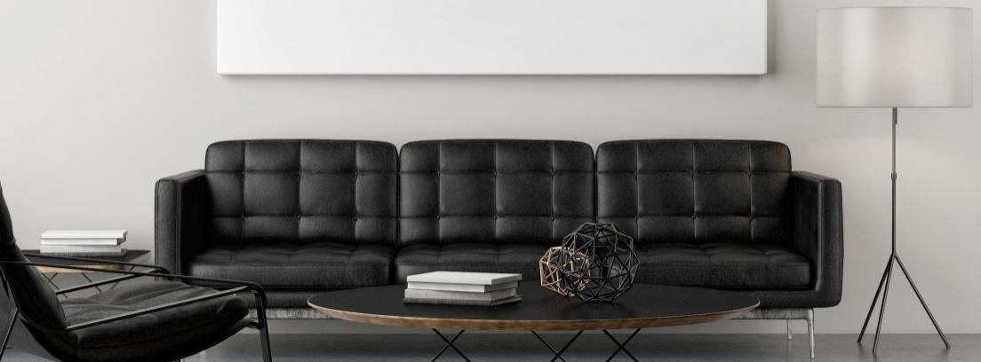 Consejos para combinar un sofá negro