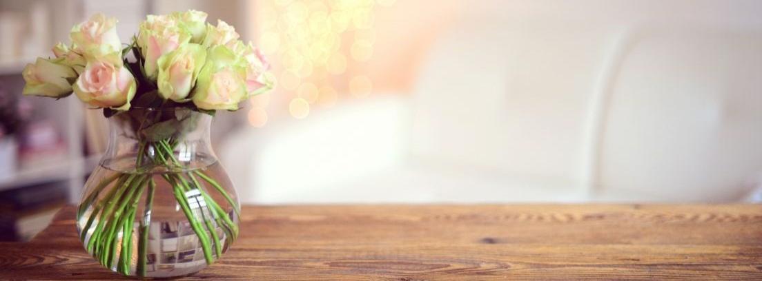 conservar flores en jarrón