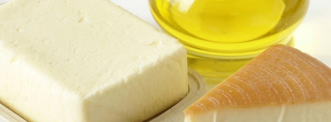 Conservas de queso en aceite