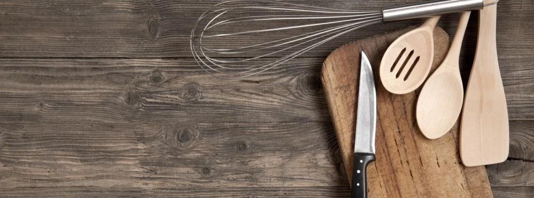Cómo cuidar de los utensilios de madera