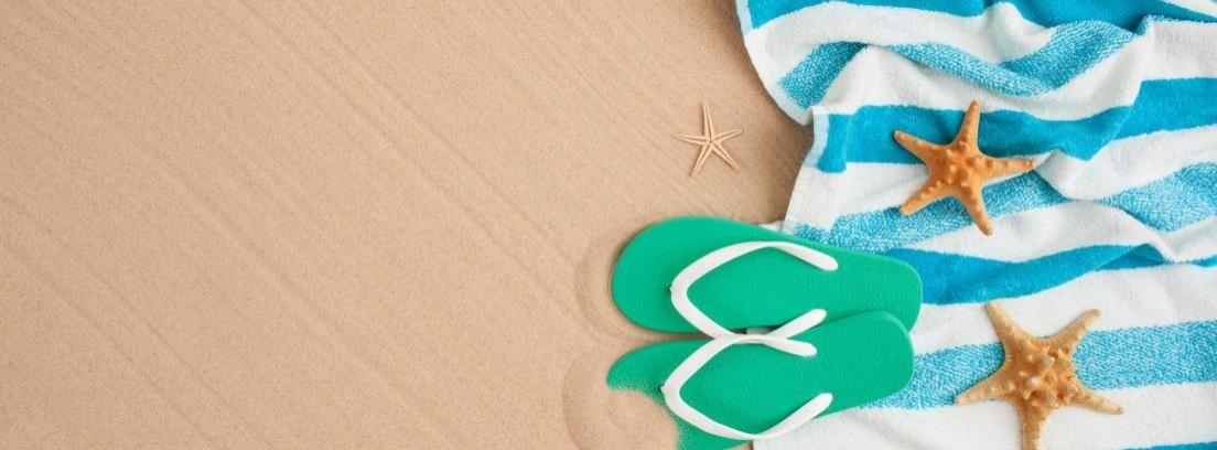 toallas de baño o de playa