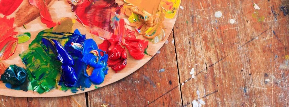 Fabricar una paleta de pintor