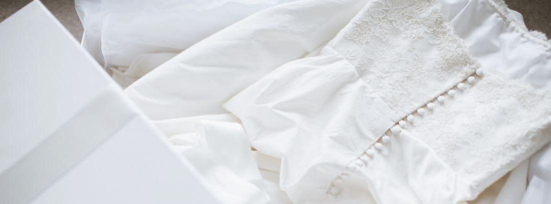Guardar vestido de novia
