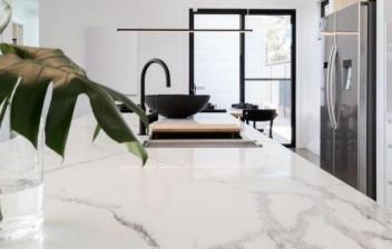 Técnica para imitar el mármol
