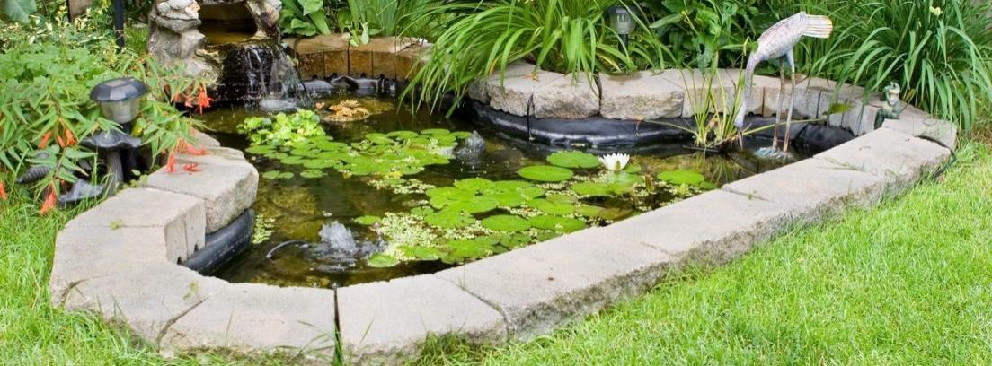 Cómo hacer un estanque en el jardín