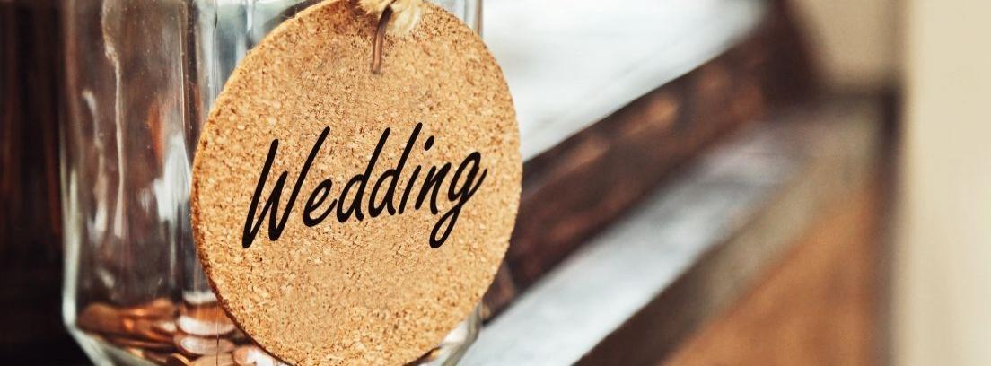Cupcakes decorados con motivo de boda