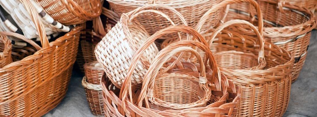 cestas mimbre