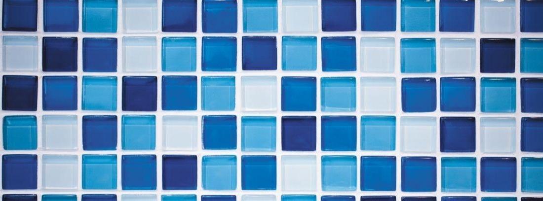 Muro de azulejos de vidrio