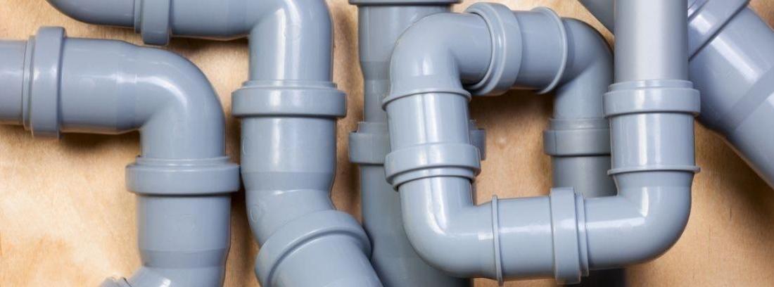 Instalar un desagüe con tubos de PVC