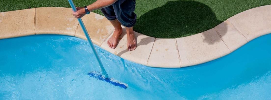 Limpieza de la piscina sin sustituir el agua