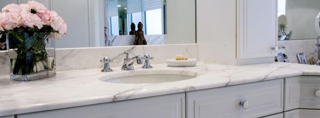 cómo limpiar manchas en el mármol