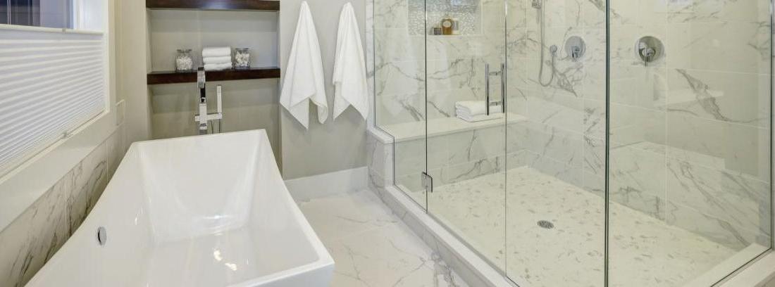 Cómo limpiar o quitar humedades de la ducha - canalHOGAR 72e3236da218
