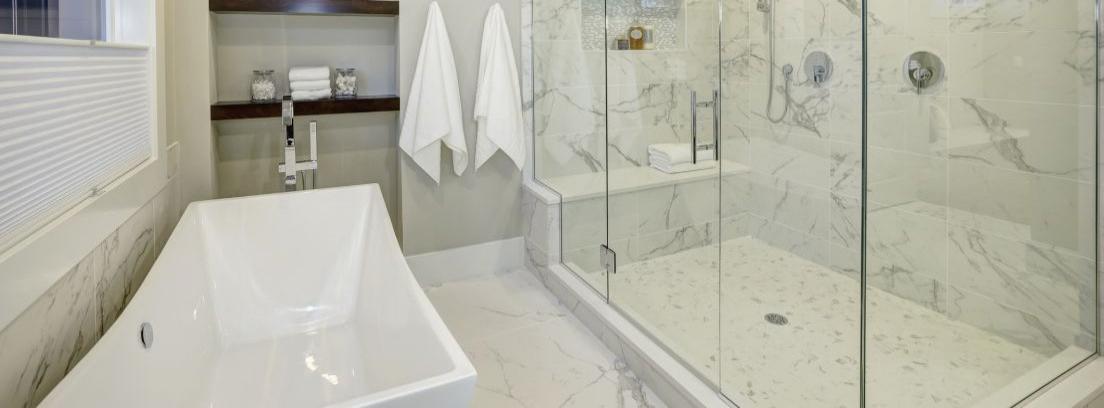 Limpiar humedades de la ducha