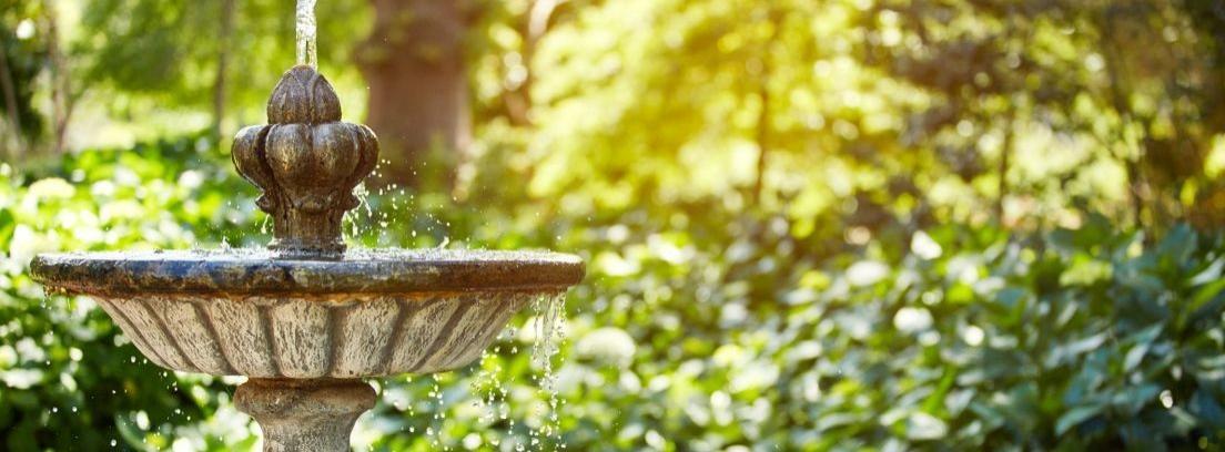 Cómo mantener una fuente de jardín