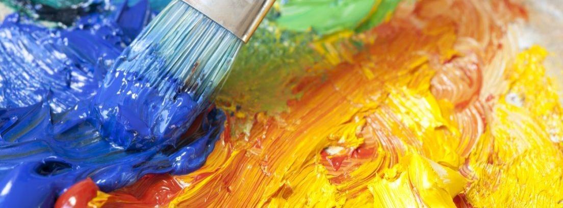 Cómo mezclar colores en las pinturas