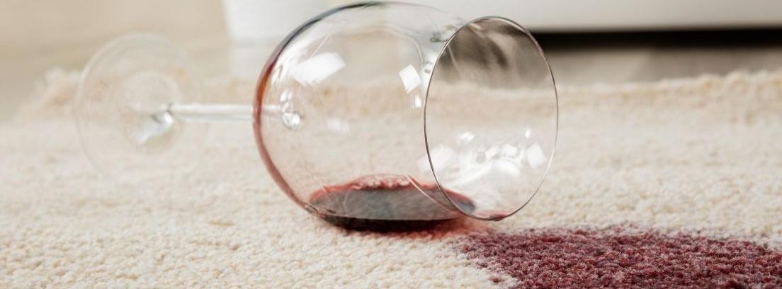Método para eliminar manchas de vino en tejidos