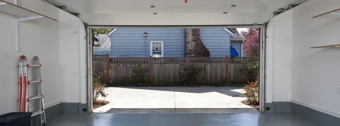 Cómo pintar un garaje