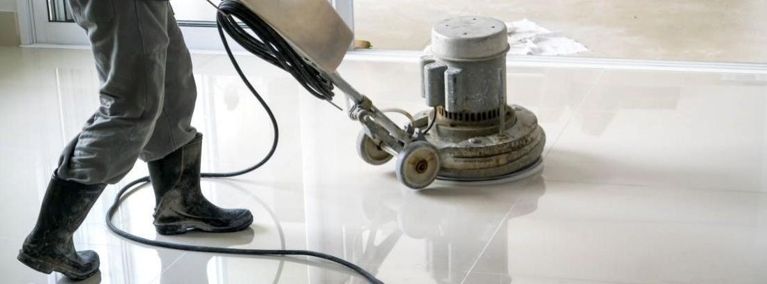 Cómo pulir el suelo