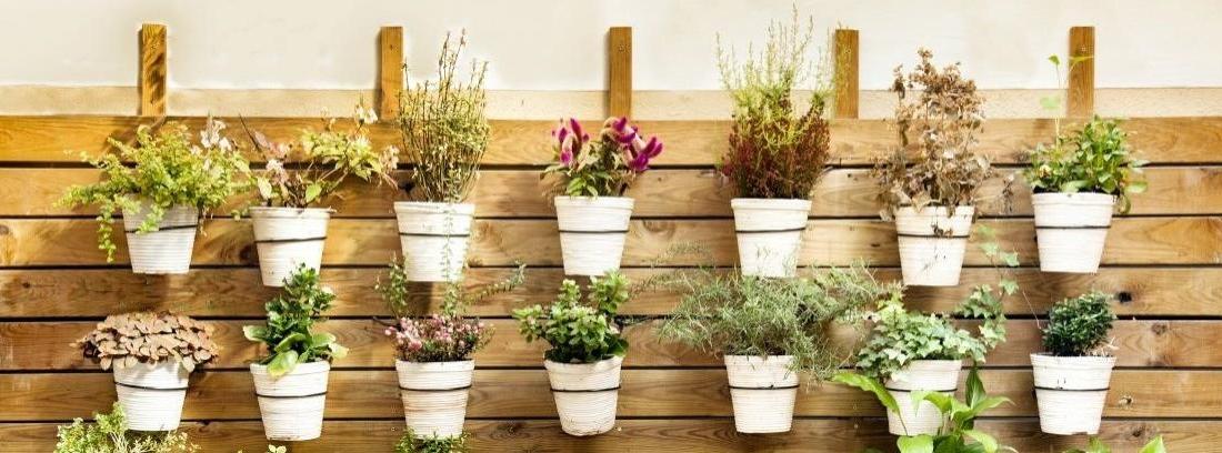Crear jardineras con palets para tu terraza