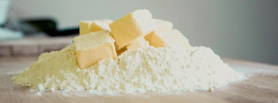En qué se diferencia la harina de trigo y la de arroz
