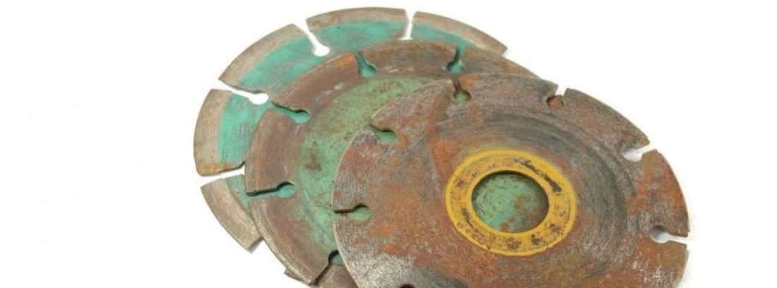 Tipos de discos para amoladoras