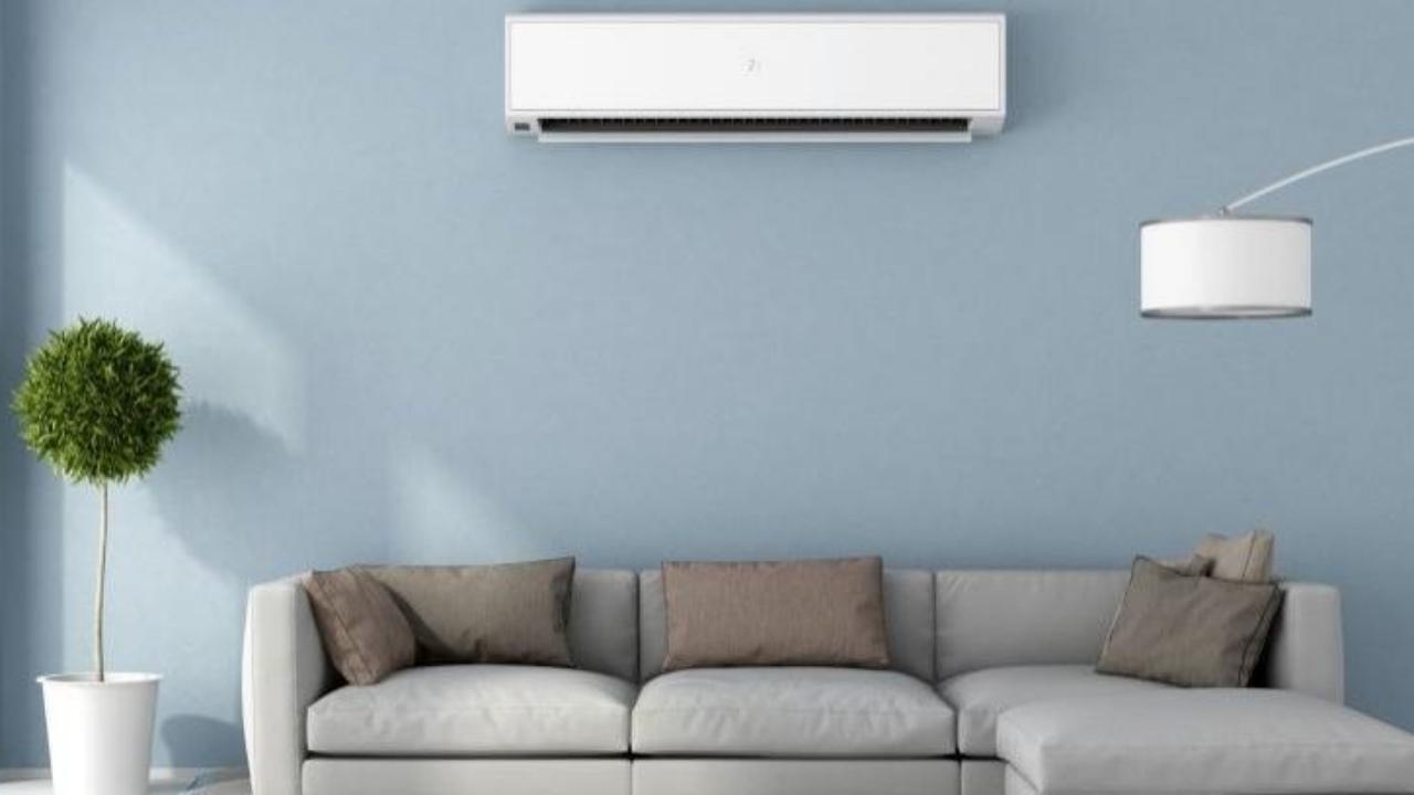 Unidad exterior aire acondicionado arriba o abajo